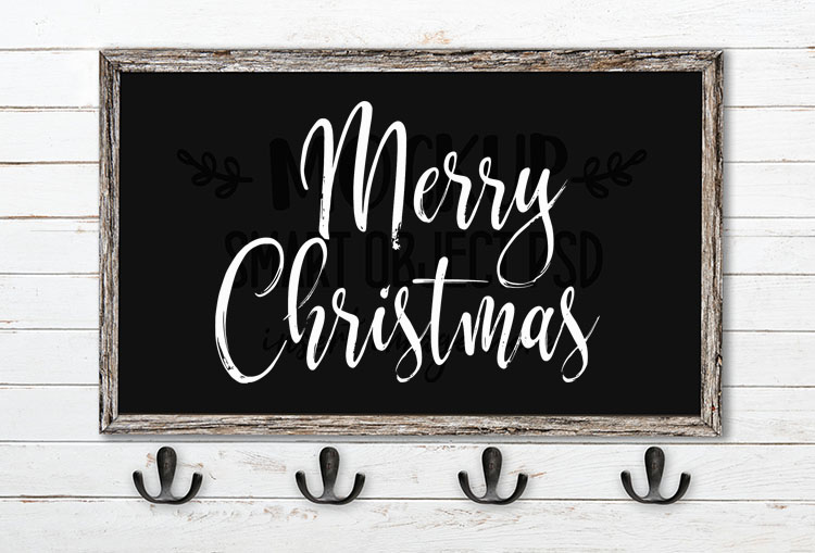 merry christmas svg word art hysteria