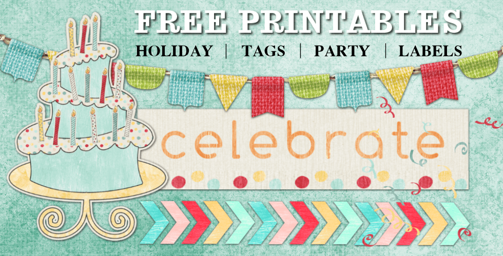 free birthday printable stickers cupcake toppers