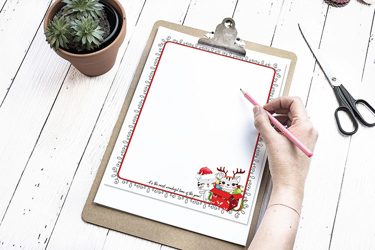 printable christmas newsletter
