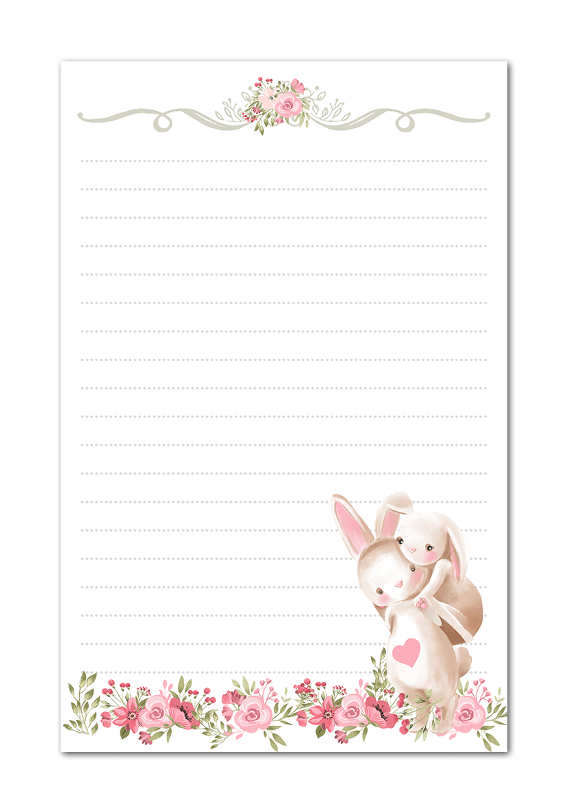 It is a graphic of Superb Easter Stationery Printable