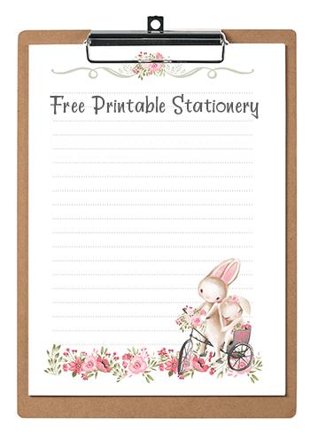 Printable Valentine Stationery
