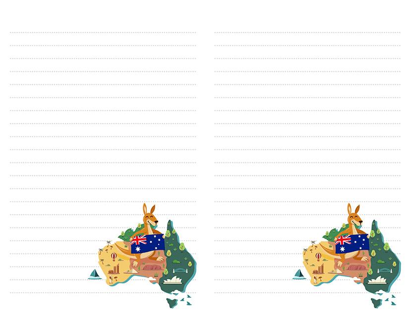 Australia Stationery