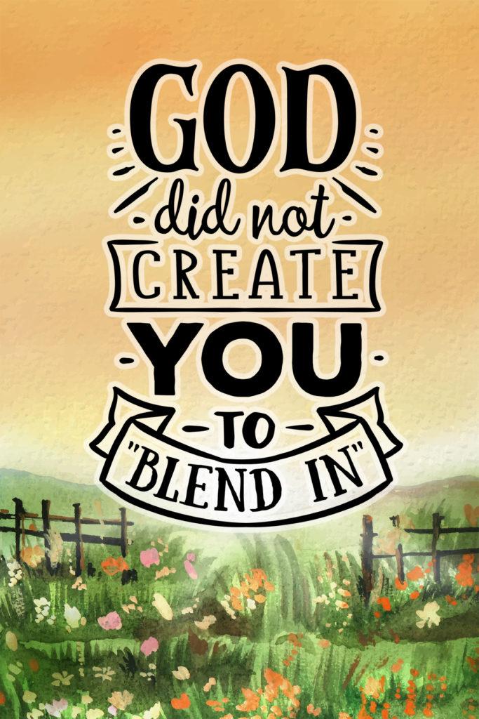 Inspirational Faith Postcard