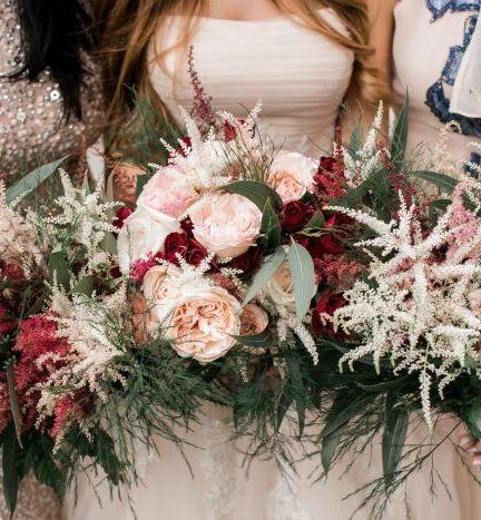 Southern Garden Wedding Flowers Inspiration