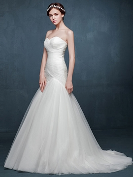 High Quality Sweetheart Mermaid Wedding Dress