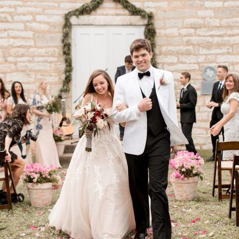 Southern Wedding with Astilbe