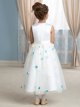 Charming A Line Flower Girl Dress