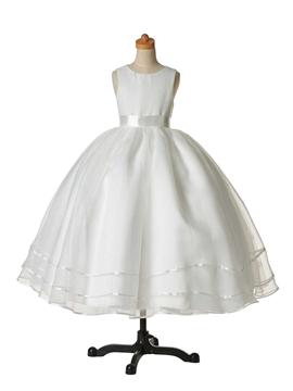 Classical Jewel Ball Gown Cheap Flower Girl Dress