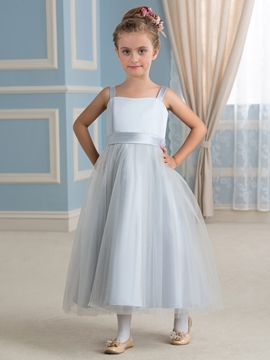 High Quality A Line Tulle Flower Girl Dress