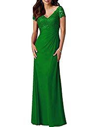 Chiffon Long Mother of the Bride Dress Formal Evening Gown