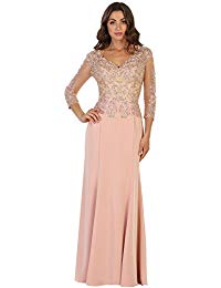 MQ1505 Mother of The Bride Evening Gown