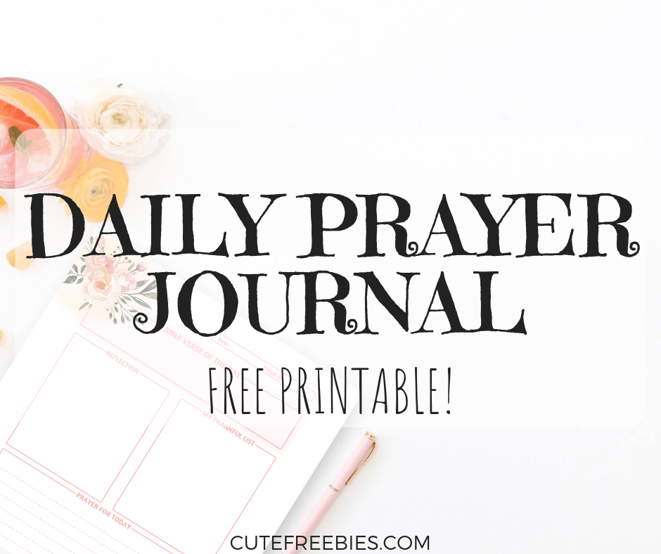 image about Printable Prayer Journals known as Bible Printables Archives - Adorable Freebies For By yourself