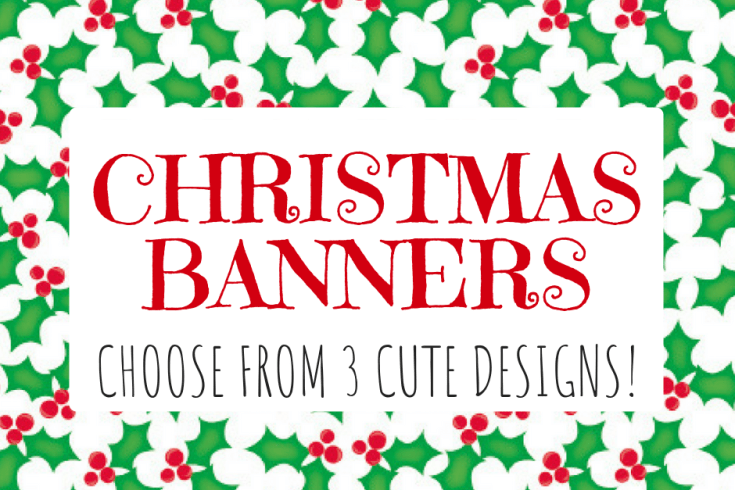 Merry Christmas Letter Banner Printable.Free Printable Merry Christmas Banner Letters