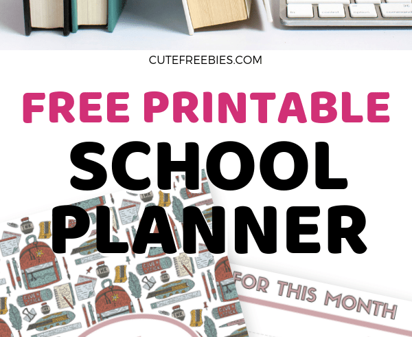 Cute Freebies For You - Cute calendar and planner printables