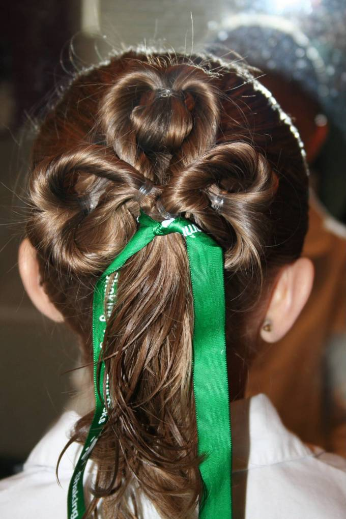 st. patrick's day hairstyles | cute girls hairstyles