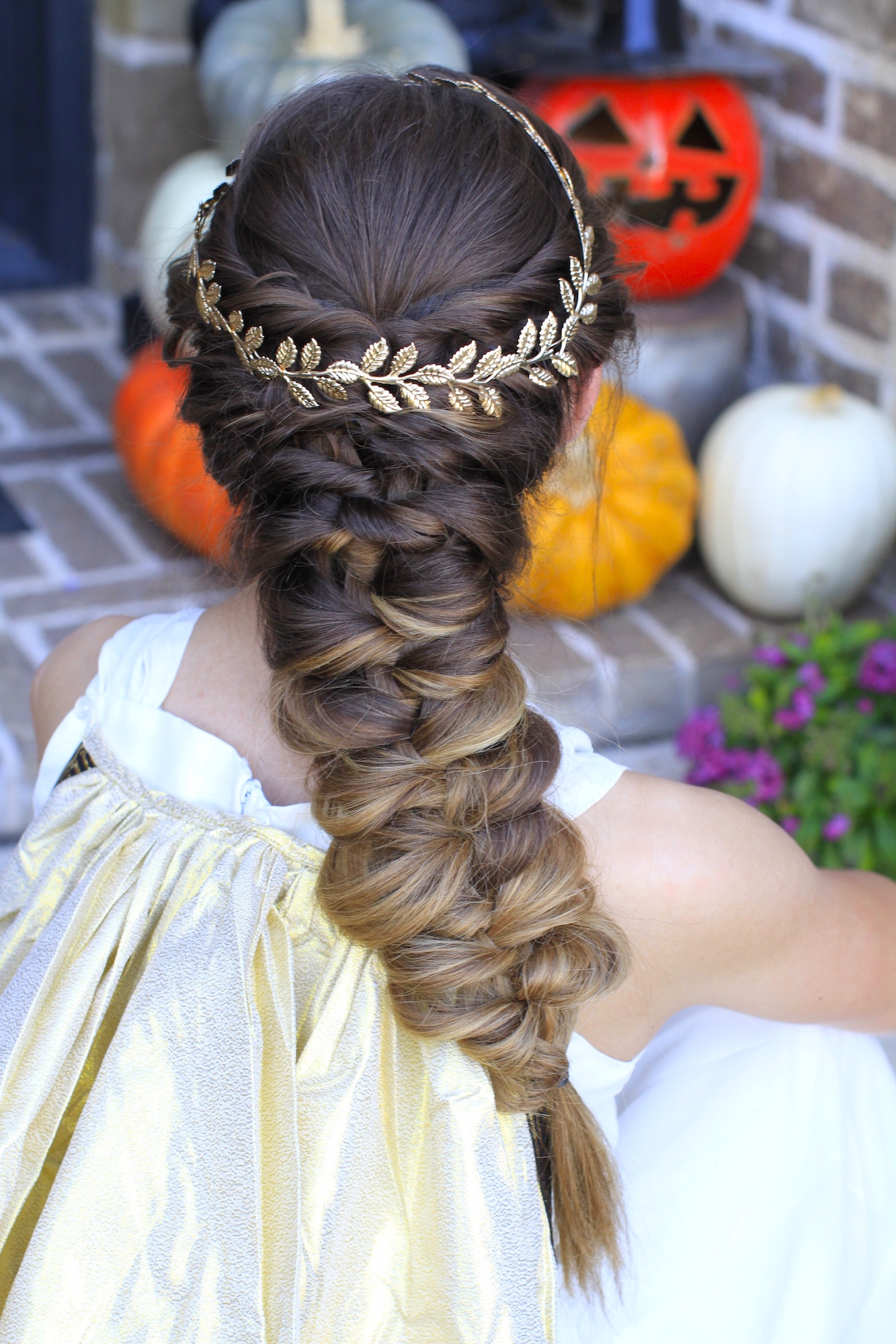 Twist Faux Braid Halloween Hairstyles