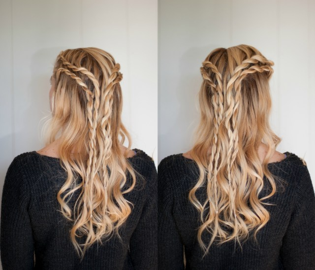 5 date night hairstyles | cute girls hairstyles