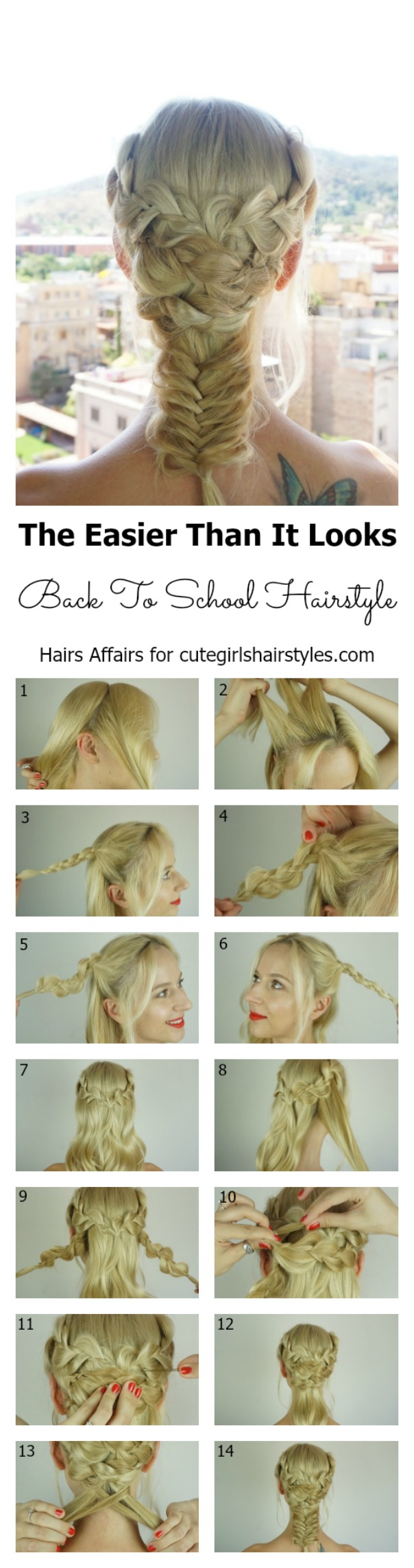 easy back to school hairstyle | cute girls hairstyles