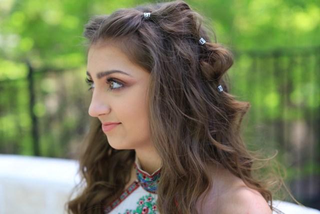 kamri's prom hair | boho bubble braid | cute girls hairstyles
