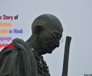 Life Story of Mahatma Gandhi in Hindi language (Updated)