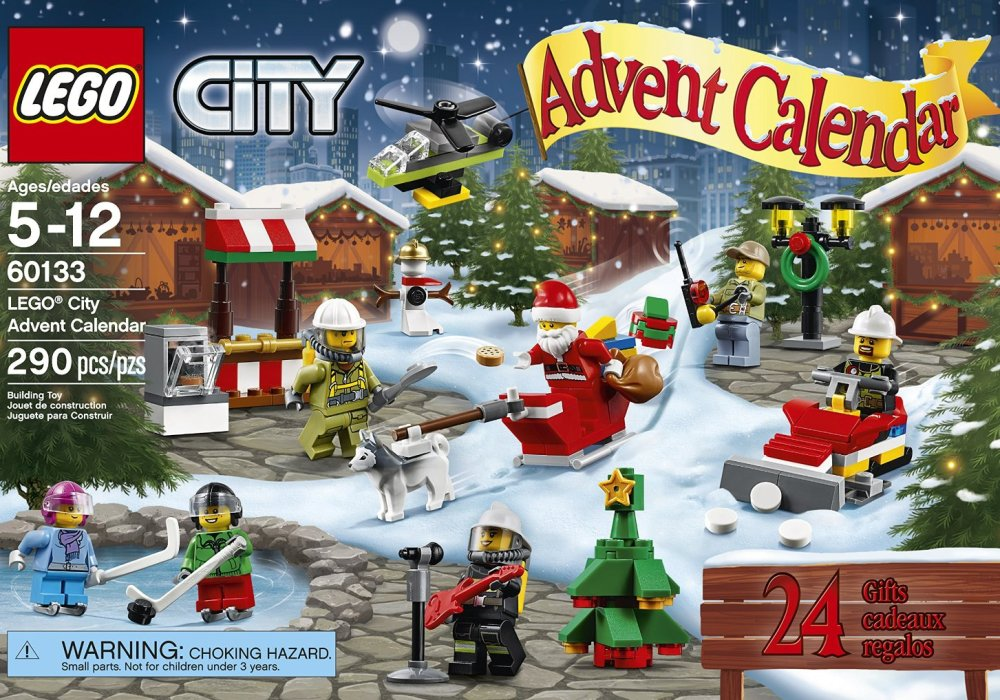 LEGO City Town 60133 Advent Calendar Building Kit (290 Piece) review