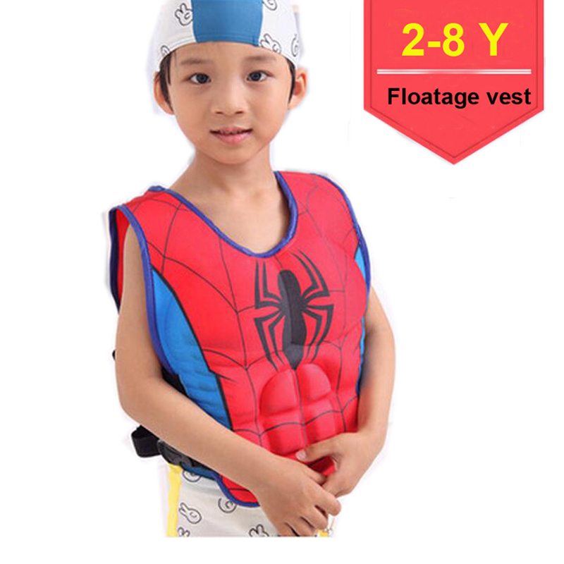 2 to 6 Year Old NEWROAD Kids Swim Vest for Swimming Training