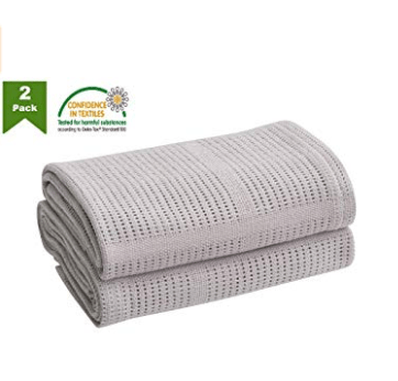 Bloomsbury Mill Twin Pack Cellular Baby Blankets