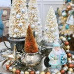 Decorating With Vintage Silver Antiques For Christmas Cutertudor