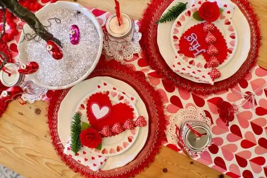 How to Style a Valentine's Day Table - Gallery Slide #2
