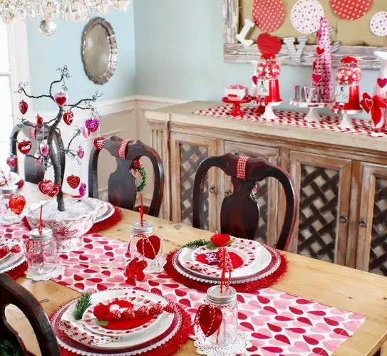 How to Style a Valentine's Day Table - Gallery Slide #8