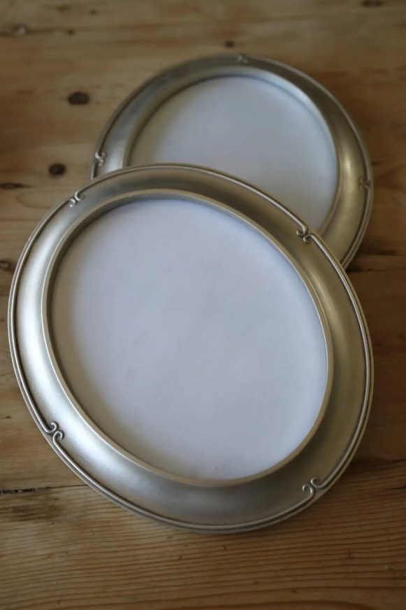 Oval frames from Hobby Lobby