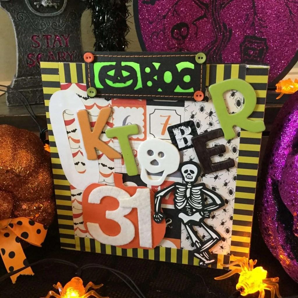 kid friendly halloween craft