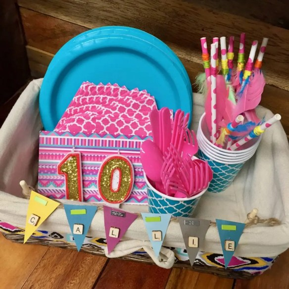 glamping kids birthday party ideas
