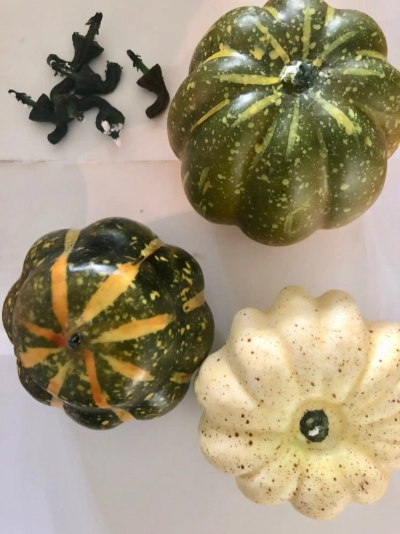 Use any faux or craft pumpkins.