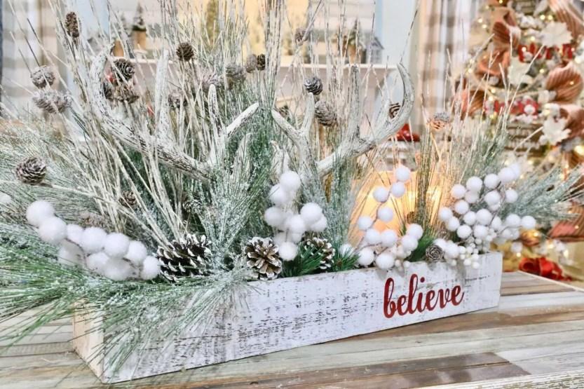 How To Make A Diy Christmas Centerpiece From Kirkland S Cutertudor