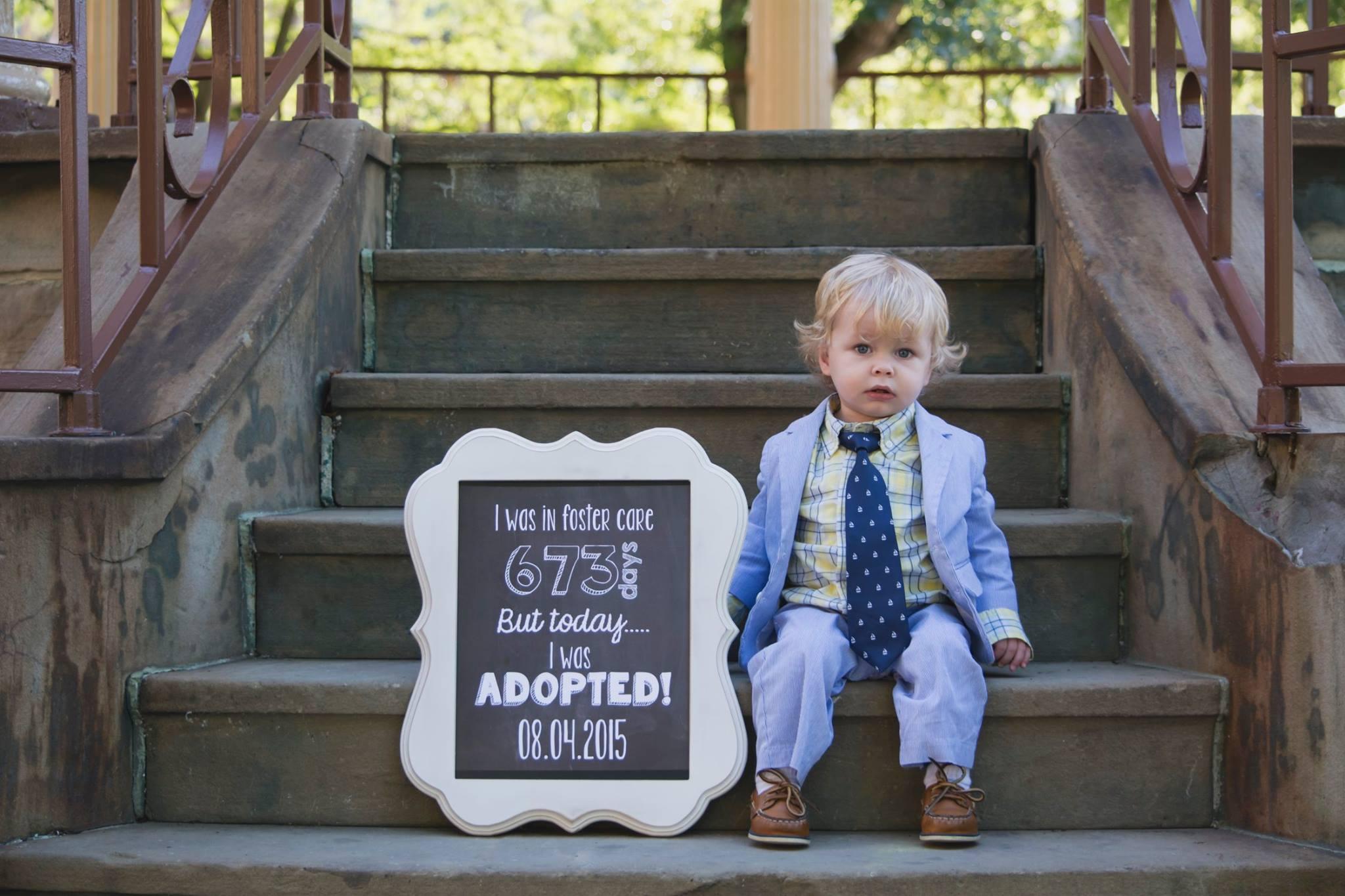 Adoption Cakes Ideas