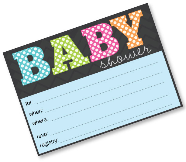 Printable Baby Shower Invitation