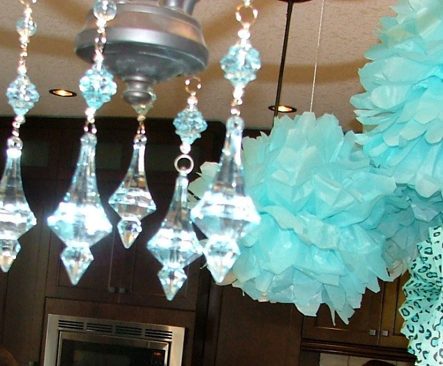 Picture Of Tiffany S Baby Shower Decorations