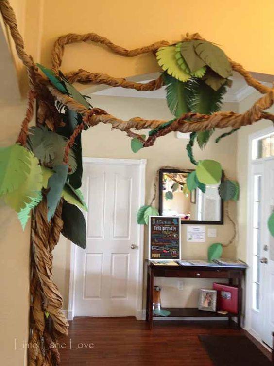 Adorable Dinosaur Baby Shower Theme Ideas ... on Vine Decor Ideas  id=13176