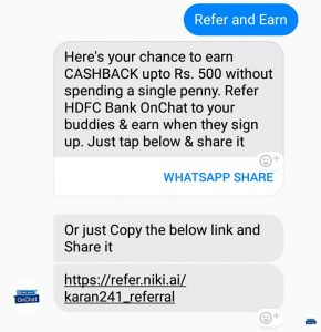 hdfc chat