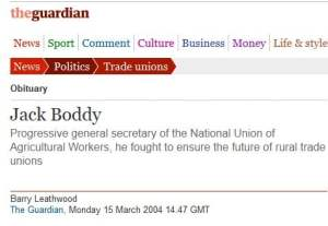 Jack Boddy Guardian Obit header