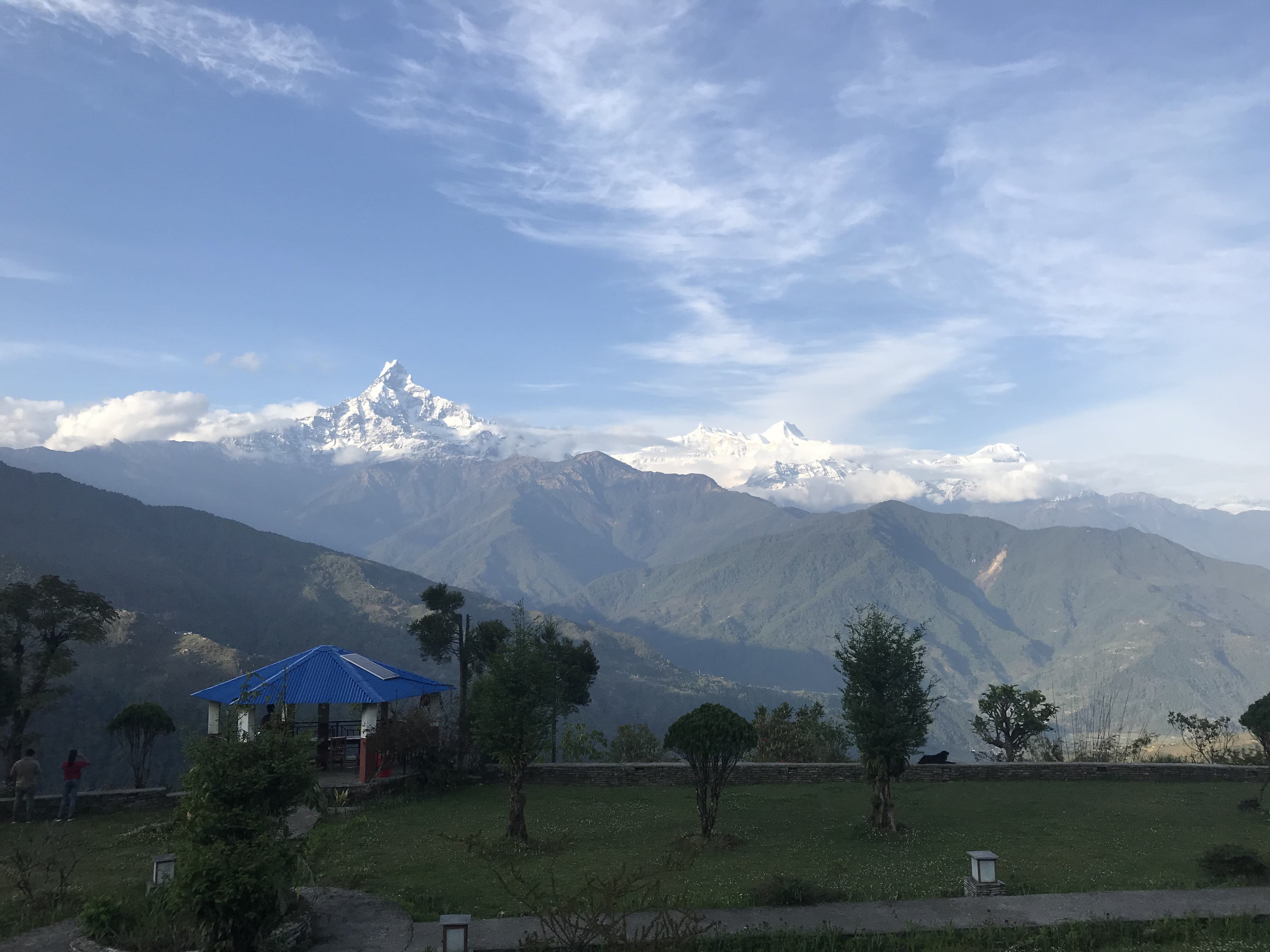 Fishtail and Annapurna 4 and 2