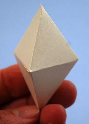 How To Make A Triangular Dipyramid
