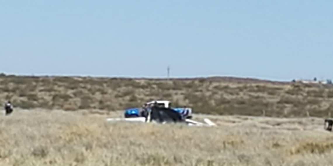 Cayó un planeador en el aeropuerto de Cutral Co y murió el piloto