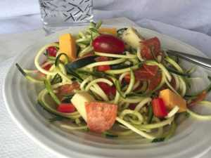 zoodle pasta salad old photo
