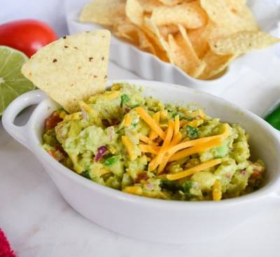 Cheesy Guacamole