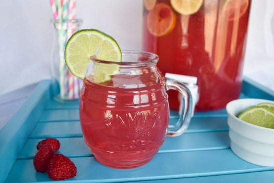Raspberry Lemonade Party Punch Cuts And Crumbles