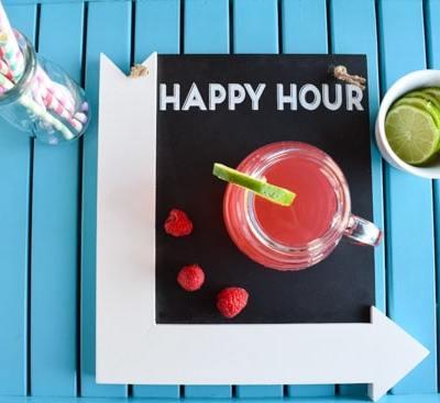 Raspberry Lemonade Party Punch