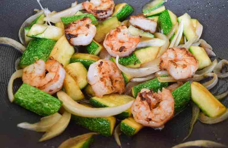 Hibachi Shrimp and Veggies