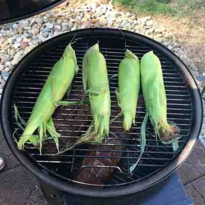 Smoked Corn the Cob